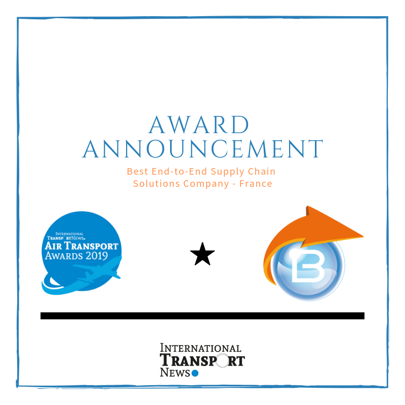 Award: Best End-to-End Supply Chain Solutions Company - France