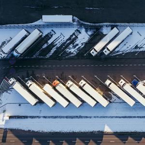 中欧跨境卡车