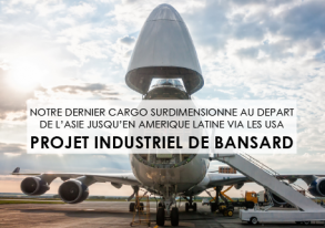 Discover our last Air-Sea Industrial Project from Asia to Latam via our bonded MIA Gateway in USA