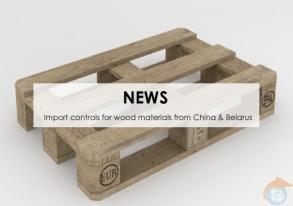 Import Chine & Biélorussie : Contrôles phytosanitaires sur emballages en bois