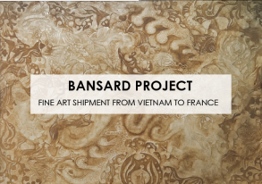 Discover our last Fine Arts shipment from Vietnam to France