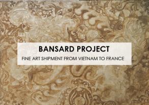 Découvrez notre dernier transport d'Oeuvres d'Art du Vietnam en France