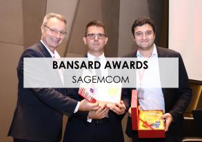 Bansard flies high with Sagemcom's Agility trophy !