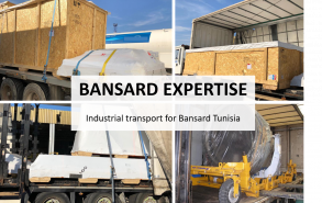 Industrial transport for Bansard Tunisia