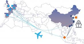 Le transport combiné Sea-Air de Chine vers l'Europe, la solution alternative à connaître absolument !