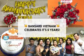 Bansard Vietnam fête ses 5 ans!
