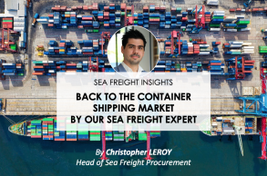 Back to the container shipping market by our expert