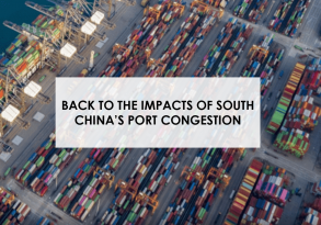 Back to the impact of South China's port congestion