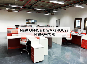 New Office & Warehouse in Singapore
