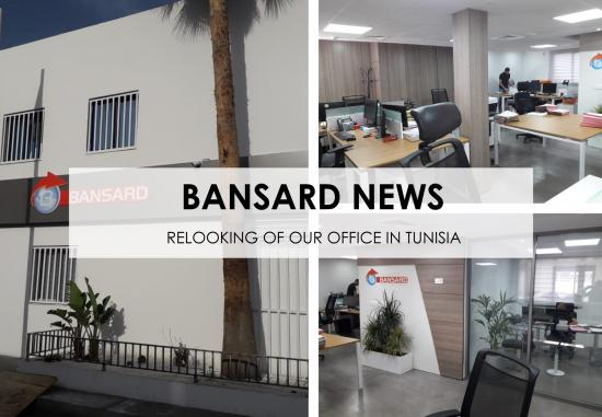 Relooking of our offices in Tunisia