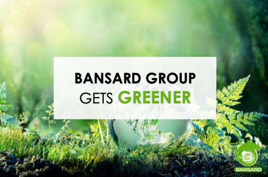 Bansard gets greener!