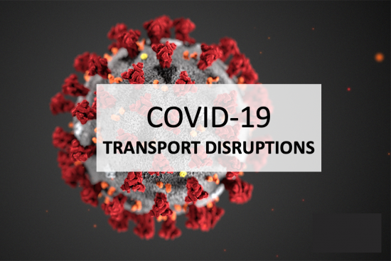 Coronavirus Impact : Disturbances on transport