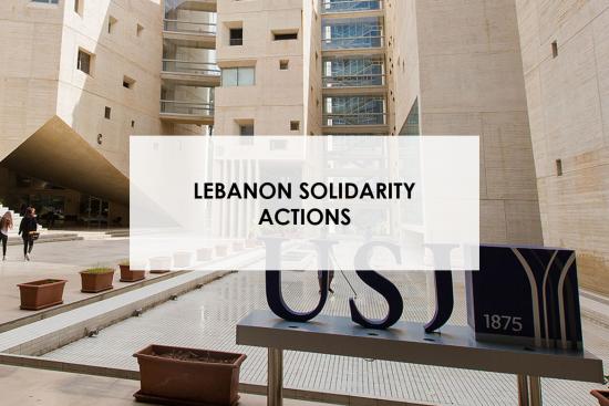 Lebanon solidarity action